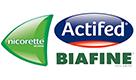 Nicorette Actifed Biafine