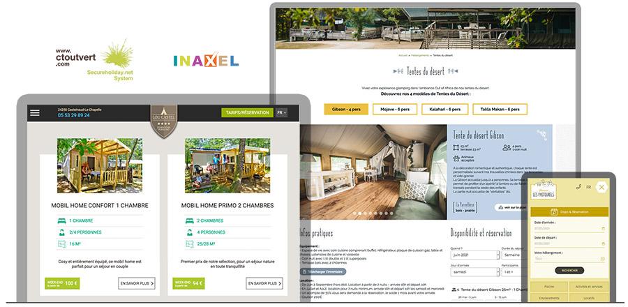 Site web de camping