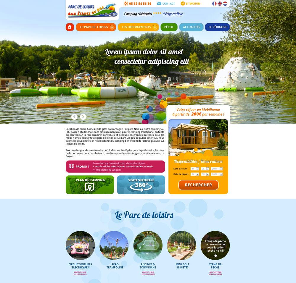 Les étangs du Bos