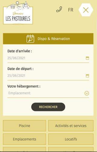 Les Pastourels - moteur de recherche mobile
